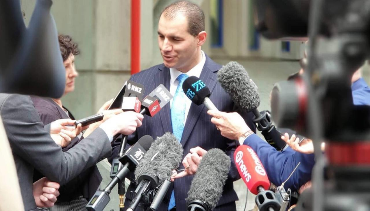 Mitch Harris: 'Did an MP from the National Party section Jami-Lee Ross?'