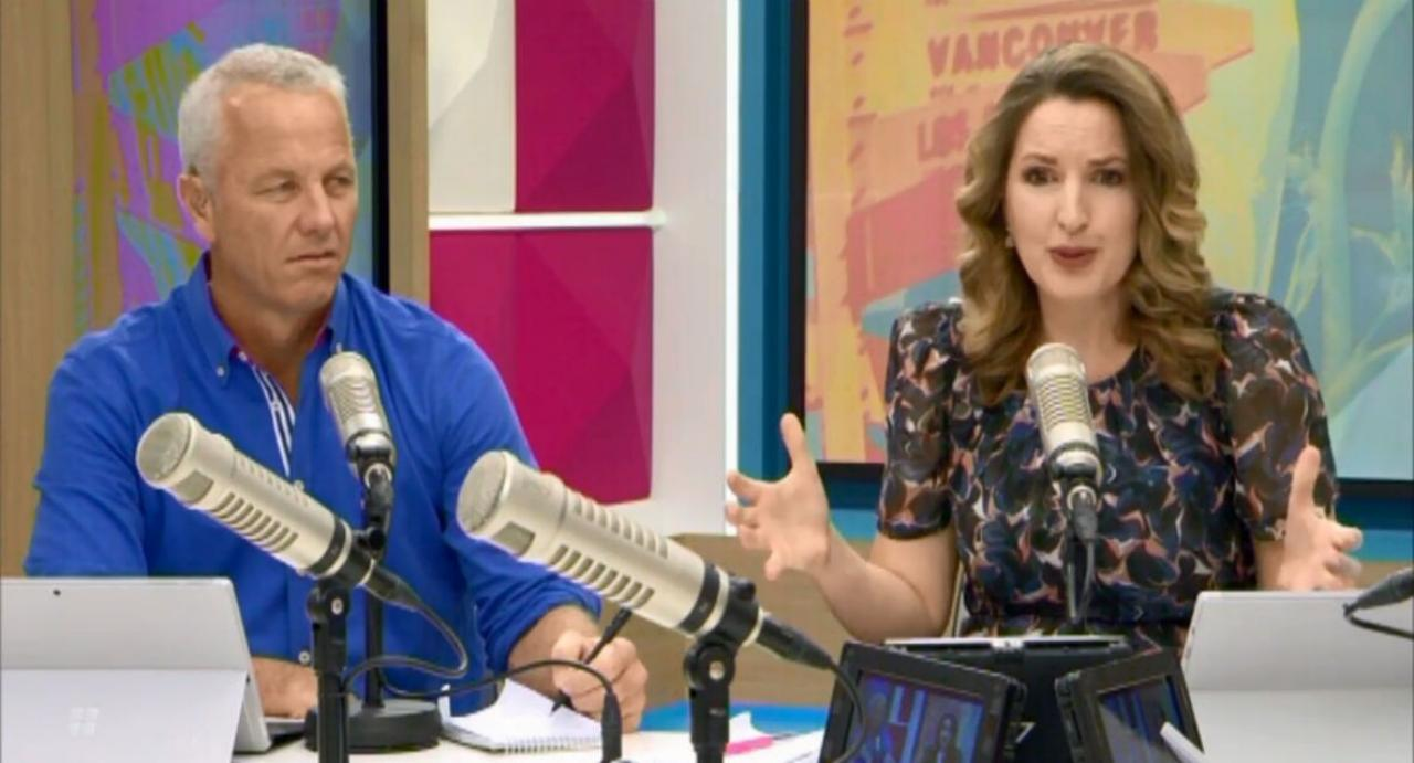 The AM Show hosts clash over Jacinda Ardern's US visit